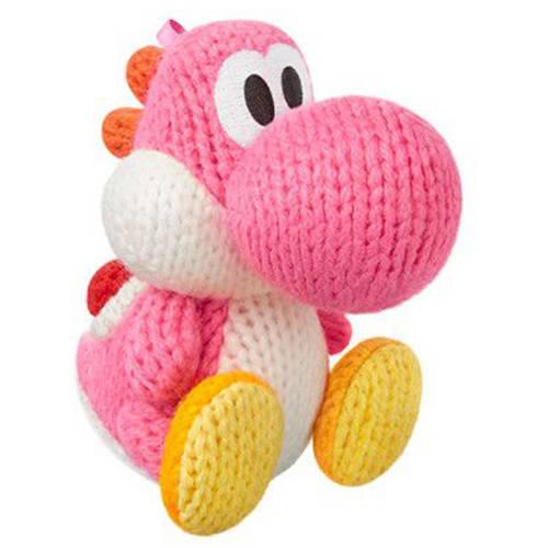 Pink Yarn Yoshi amiibo (Universal)