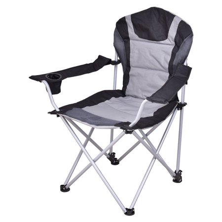 Portable Fishing Camping Chair w/ Cup Holder