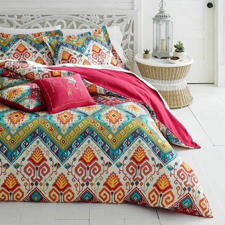 Azalea Skye Moroccan Nights Dark Red Comforter Set, King