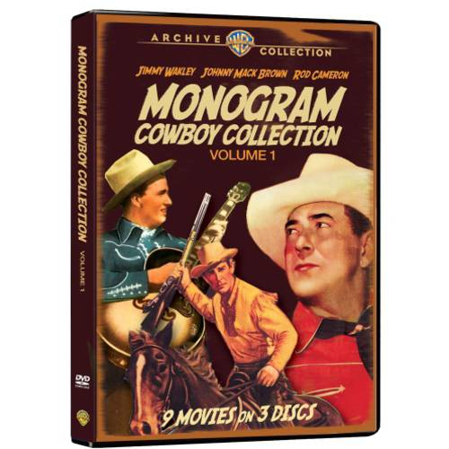 The Monogram Cowboy Collection, Volume One (Full Frame)