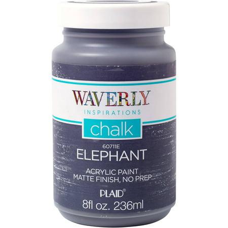 Waverly Inspirations Elephant Matte Chalk Finish Acrylic ...