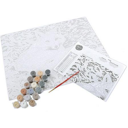 """Paint Works Paint By Number Kit 20""""X16""""-Sunlit Fox - image 2 de 5"""