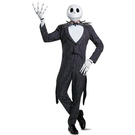 Mens Jack Skellington Prestige Costume for $<!---->