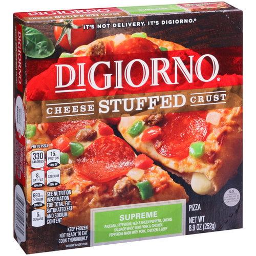 DiGiorno Cheese Stuffed Crust Supreme Pizza, 8.9 oz