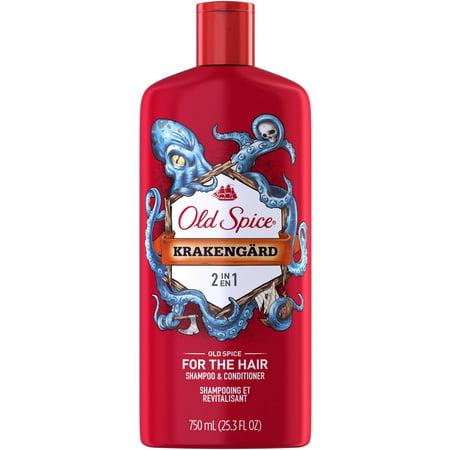 Old Spice Krakengard 2in1 Men's Shampoo & Conditioner, 25.3