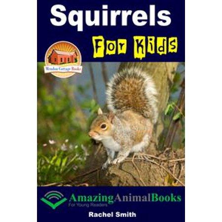 Squirrels For Kids - eBook