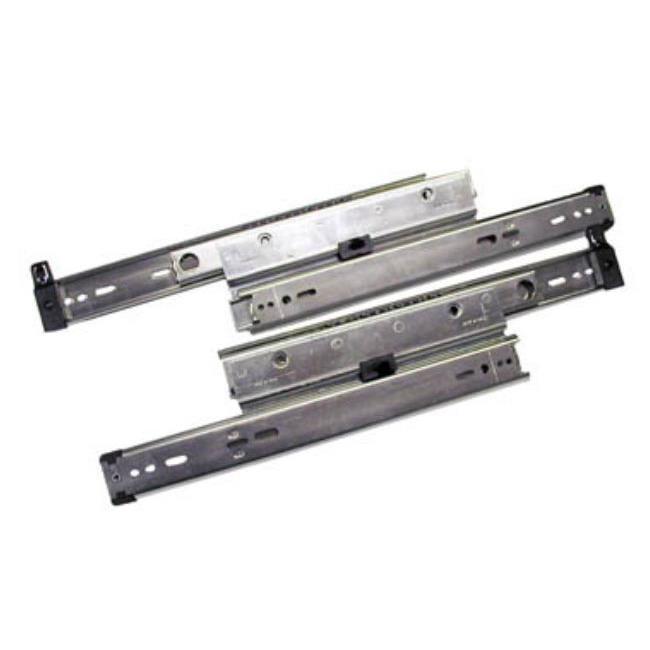 Knape & Vogt Kv8505 P28 28 In. Full Extension 150 Lb. File Drawer Slides With Overtravel - Zinc