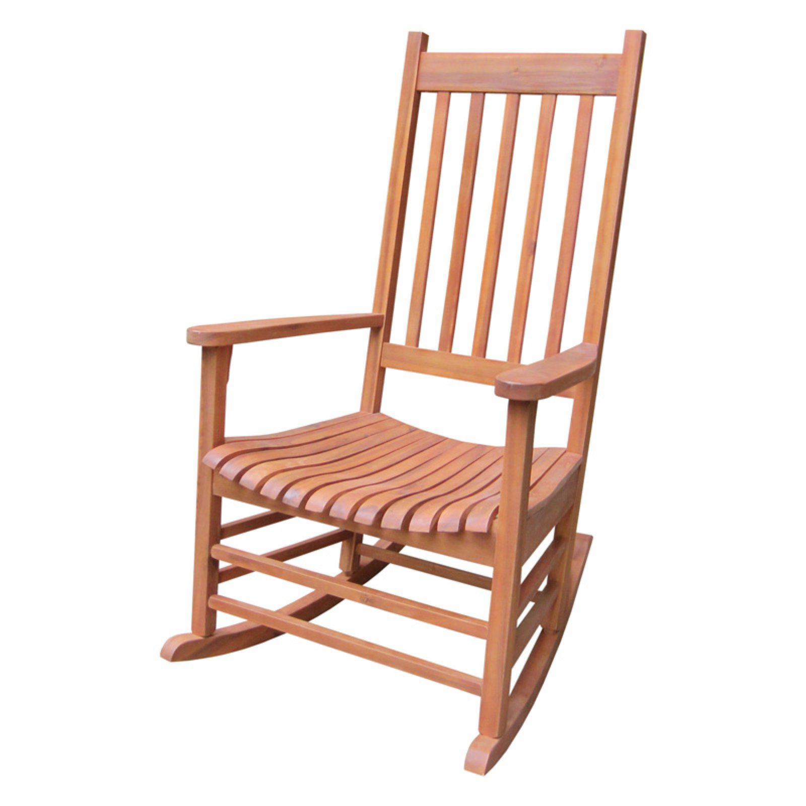 International Concepts Porch Rocker, Solid Wood, Oiled