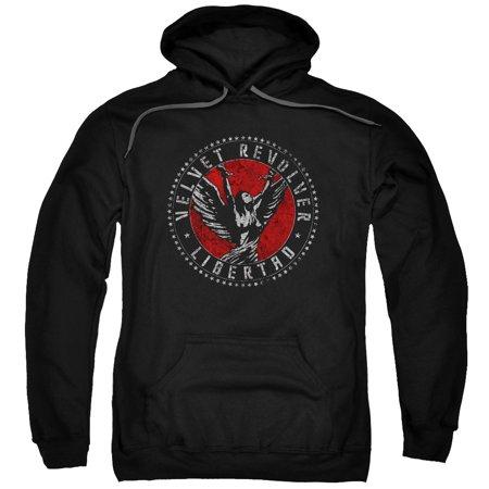 Velvet Revolver Rock Band Libertad Logo Adult Pull-Over Hoodie