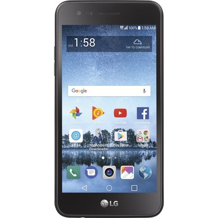 Straight Talk LG Rebel 3 Prepaid Smartphone, Refurbished