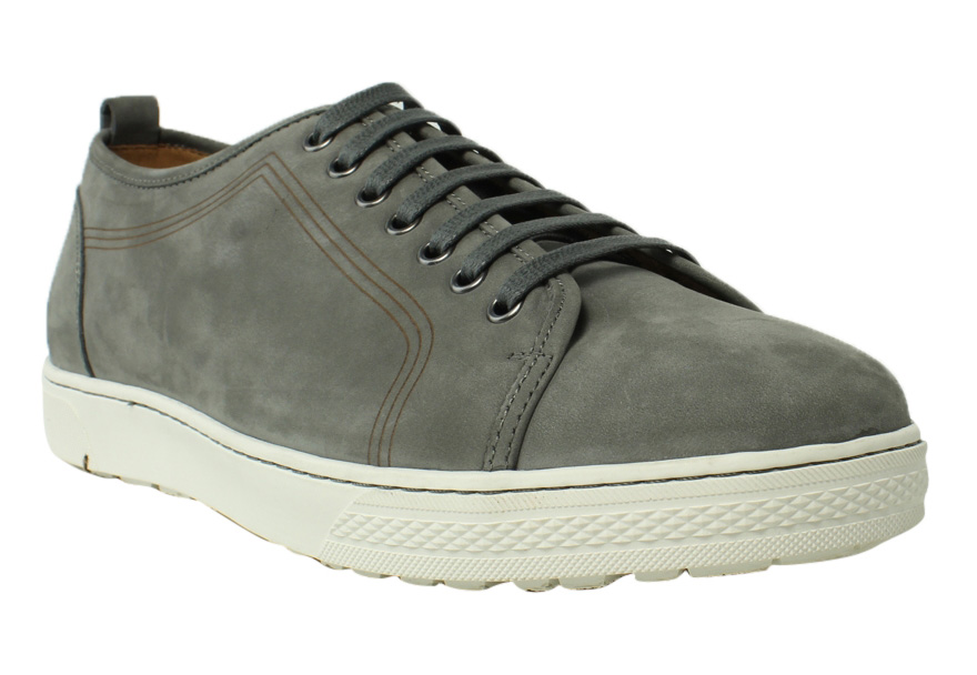 Florsheim Mens 15131-020 GrayNubuck Fashion Sneakers Casual Shoes Size 11 New by Florsheim