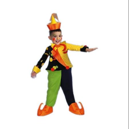 Kooky Spooky Halloween Costume (Disguise Kids 'Kooky Clown' Halloween)