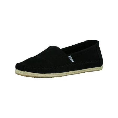 Toms Men's Classic Nubuck Black Ankle-High Flat Shoe - 10.5M ()