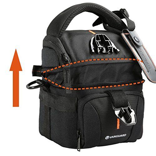 Vanguard Up-Rise II 18 Shoulder Bag for Camera and Accessories (Black) - image 10 de 13