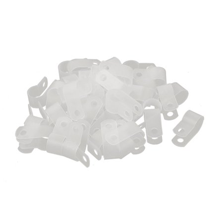 50Pcs Nylon R Type 3/8