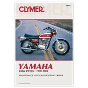 CLYMER MANUAL YAMAHA 650CC TWINS