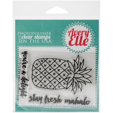 Avery Elle Clear Stamp Stay Fresh