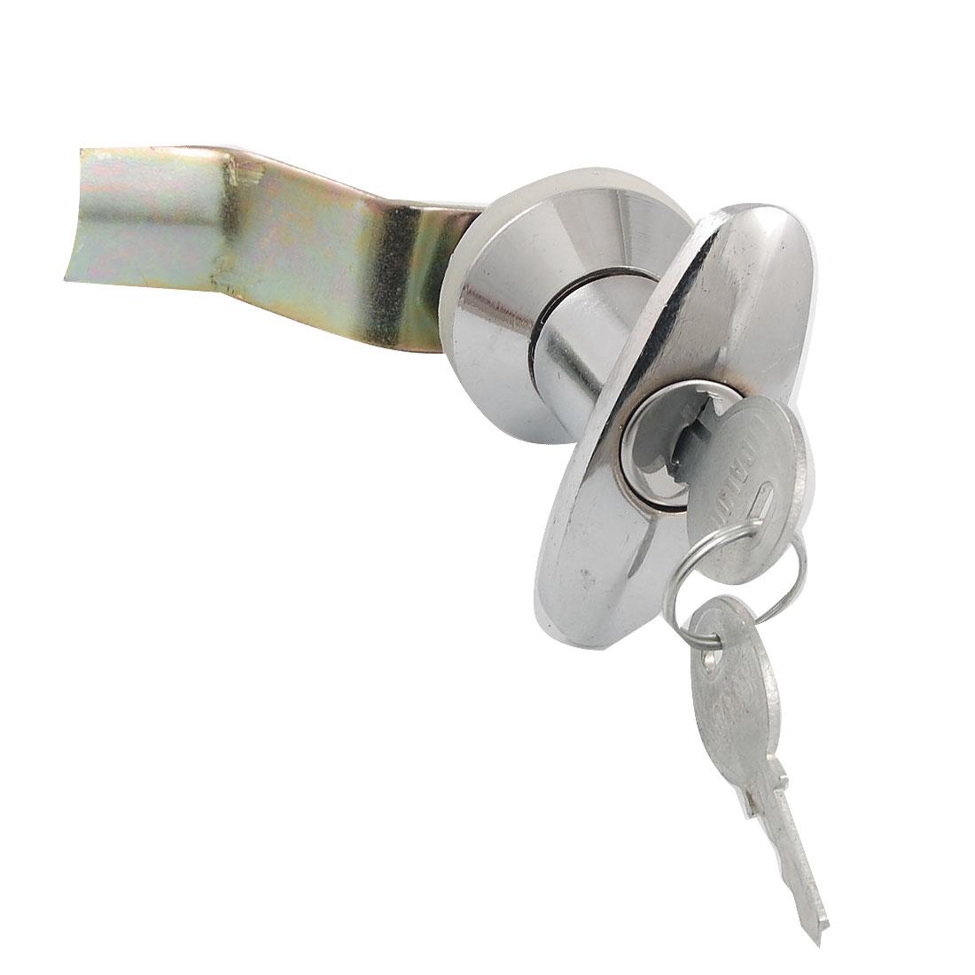 Unique Bargains Metal Quarter Turn T Handle Cam Lock For