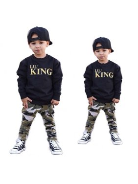 e8938a8ebf8c Toddler Boys Outfit Sets - Walmart.com