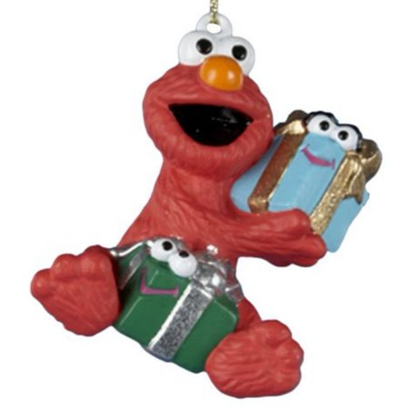 sesame street christmas ornament elmo with gift holiday ornament 59