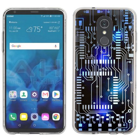 For LG Stylo 4 Case, OneToughShield ® Scratch-Resistant TPU Protective Slim-Fit Phone Case - Cosmos
