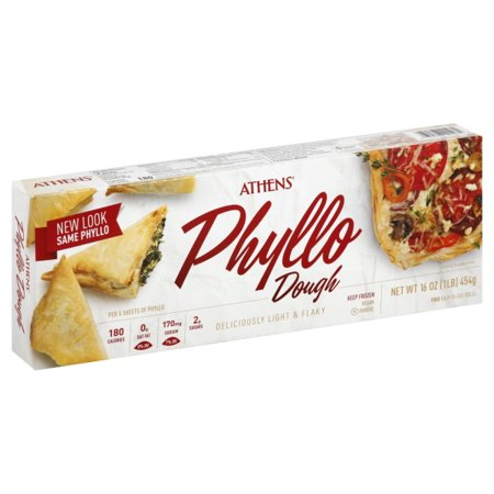 Athens Phyllo Pastry Sheets Fillo Dough 16 Oz Box Walmartcom