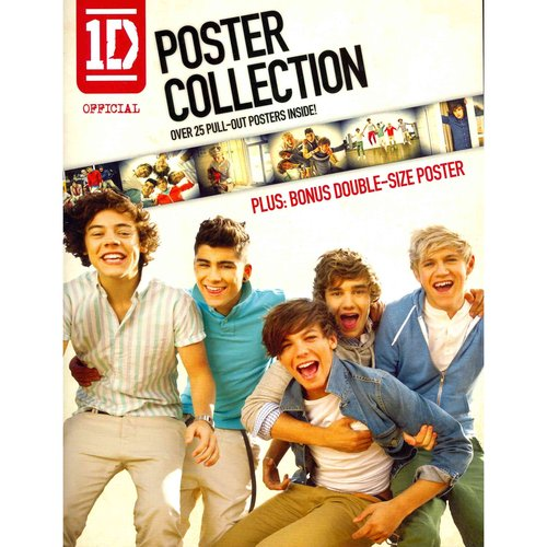 1D Official Poster Collection: Over 25 Pull-out Posters, Plus: Bonus Double-size Poster