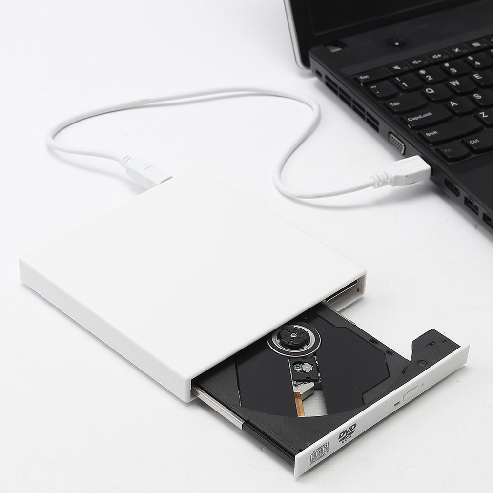 Portable Universal USB Drive External DVD CD Writer CD-ROM Drive for Computer Burn Disc
