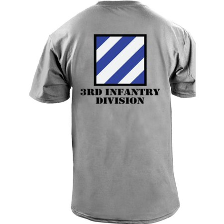Army 3rd Infantry Division Full Color Veteran - 4th Infantry Division T-shirt