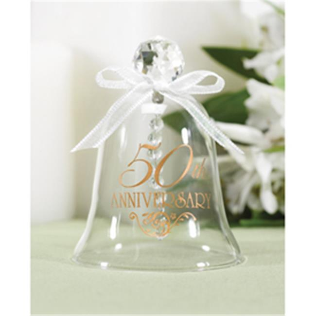 50th Anniversary Glass Bell - image 1 of 1