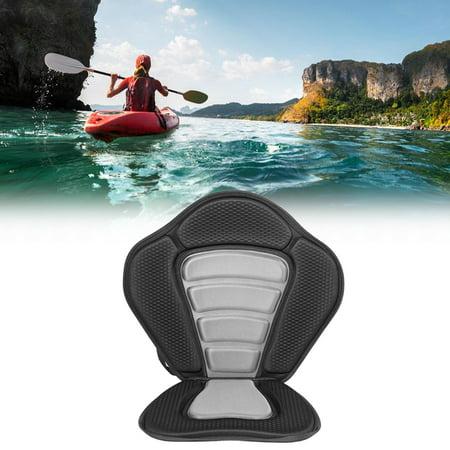WALFRONT Deluxe Padded Kayak Seat+Detachable Back Bag Canoe Sit On Top Kayaking