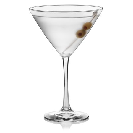 Mini Martini Glasses Plastic (Libbey Clear Midtown Martini Glasses 4 ct.)