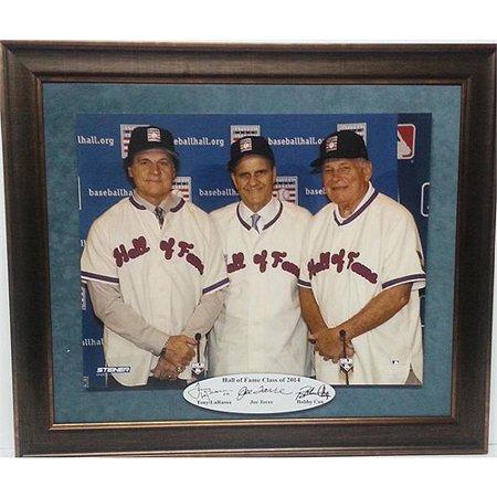 MLB 20x24 Custom Frame, 2014 Hall of Fame