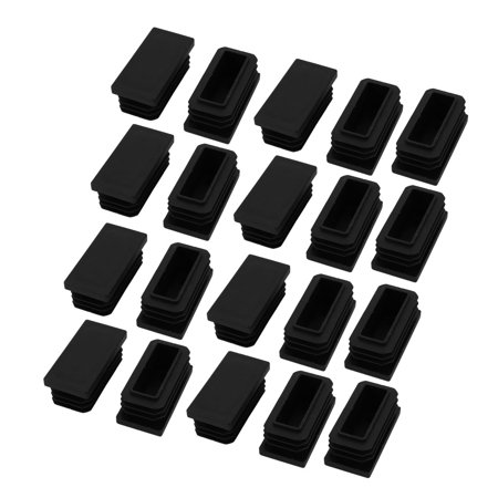 40mmx20mm chair leg floor protectors table feet tips cover. Black Bedroom Furniture Sets. Home Design Ideas