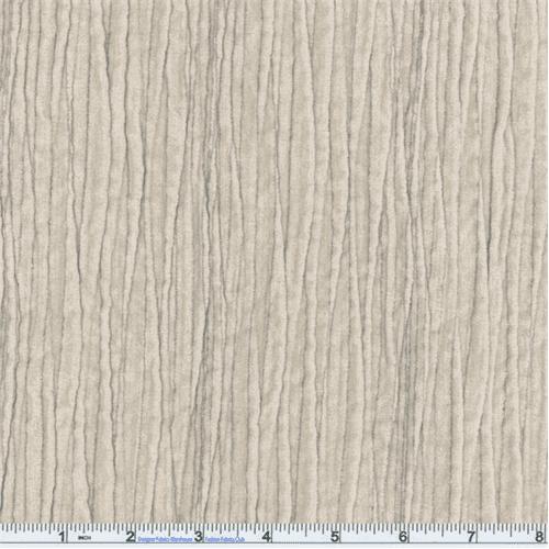 Light Stone Swoozie Ripple Texture Chenille Velvet Upholstery Fabric