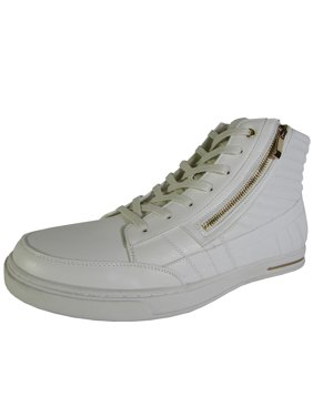 924effa86f3e Product Image Madden by Steve Madden Mens M-Dagon High Top Sneaker Shoes,  White/Gold