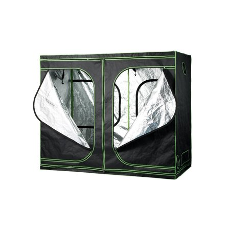 Buy-Hive Hydroponic Grow Tent Indoor Plant Growing Room Water Resistant Garden Greenhouse Floor Tray Observation Window