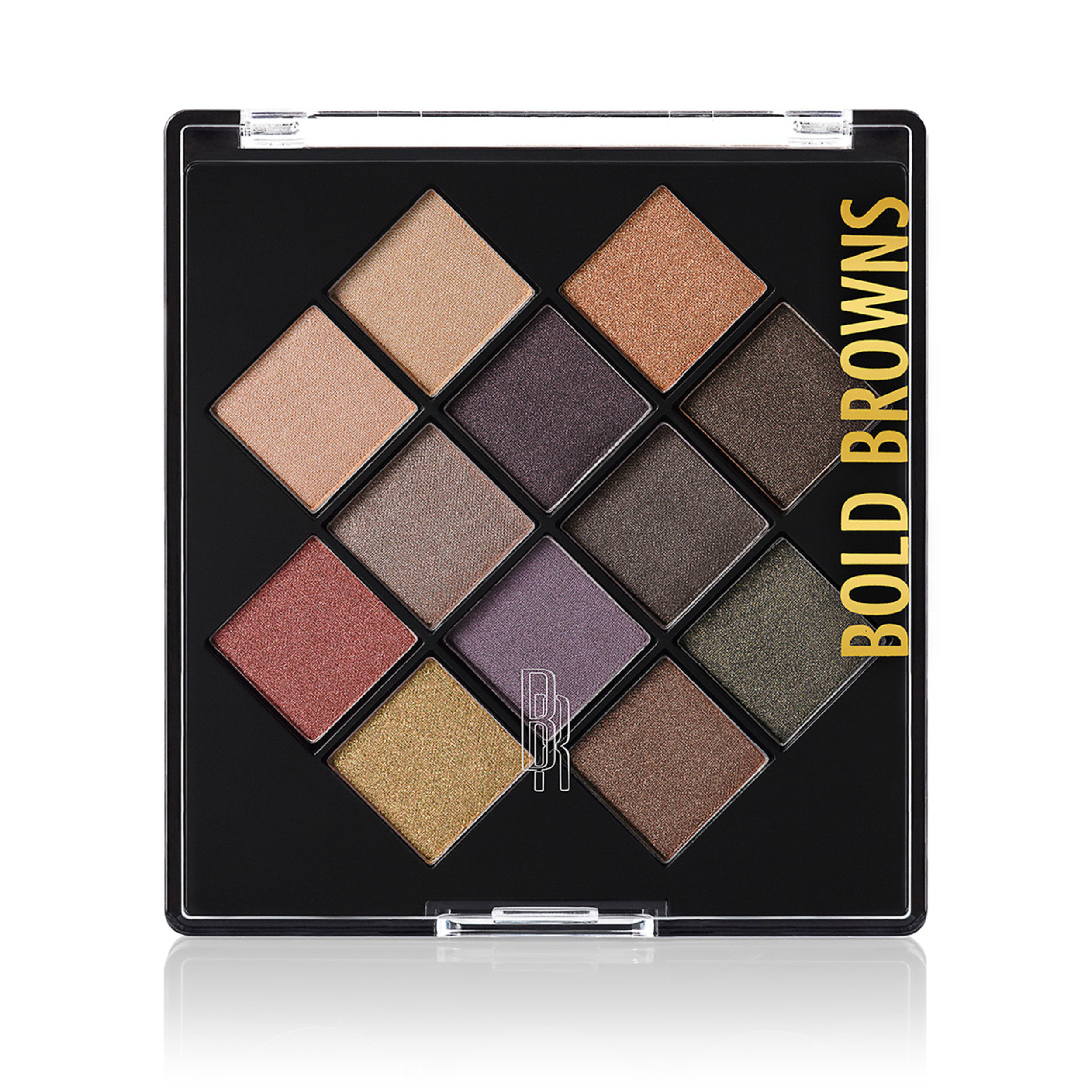 Black Radiance Eye Appeal™ Shadow Palette, Bold Browns