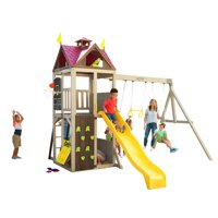 Deals on KidKraft Summerhill Wooden Swing Set