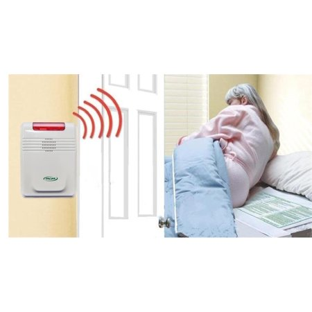 Complete CordLess Bed Exit Alarm Monitoring (Best Home Alarm Monitoring Service)