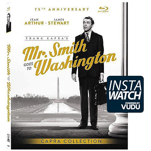 Mr. Smith Goes To Washington (1939) (Blu-ray   Digital HD) (With INSTAWATCH)