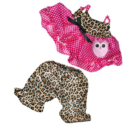 Cute Leopard Owl Teddy Bear Clothes Most 14
