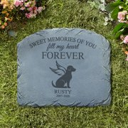 Personalized Forever Friend Pet Memorial Stone- Available in Dog or Cat