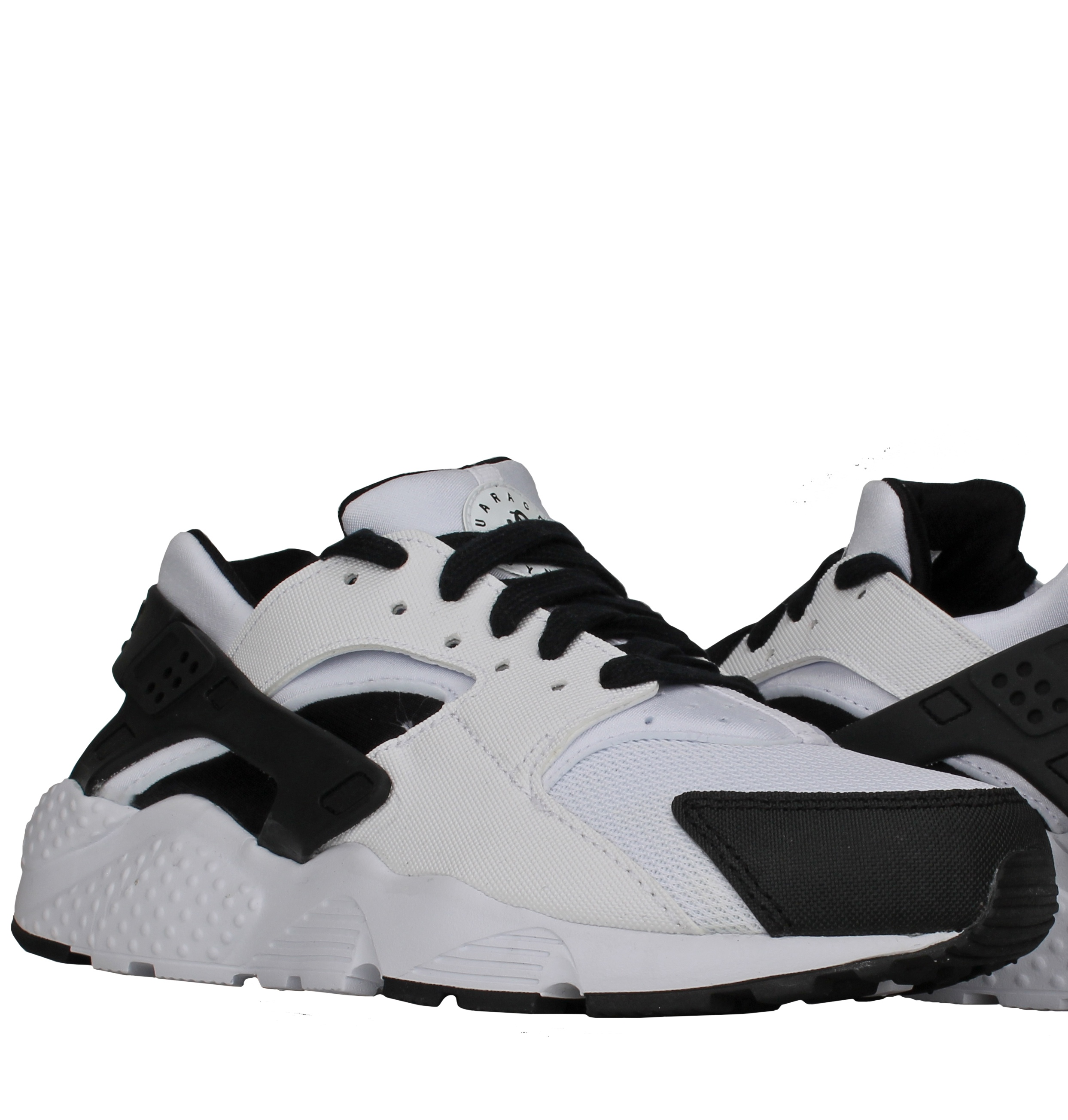 sale retailer 2350a 236f6 ... best price nike huarache run gs white black white big kids running  shoes 654275 15215 a863f