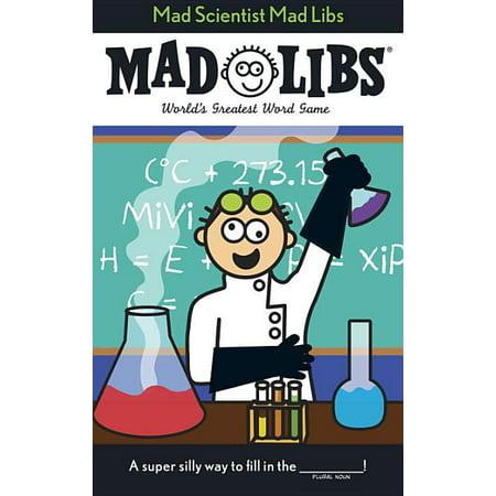 Halloween Makeup Ideas Mad Scientist (Mad Scientist Mad Libs)