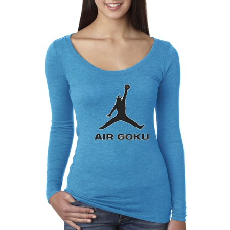 New Way - New Way 629 - Women s Long Sleeve T-Shirt Air Goku Dbz Dragon  Ball Z Jordan Parody - Walmart.com bf5568a3a8
