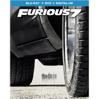Furious 7 (Blu-ray + DVD + Digital HD + Bonus Content) (Walmart Exclusive) (Widescreen)