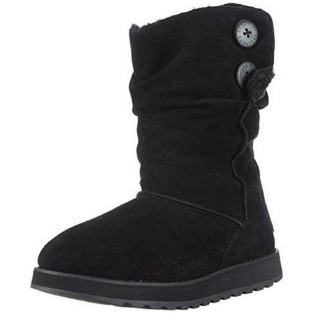 Skechers Winter Boots - Skechers Womens Keepsakes-Freezing Temps Suede Faux Fur Winter Boots