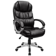 Walnew High Back Ergonomic Executive Office Chair PU Leather, Black