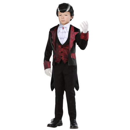 Boys Dashing Vampire Costume - Boy Vampire